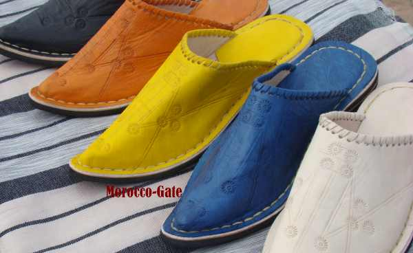 Alibaba leather slippers