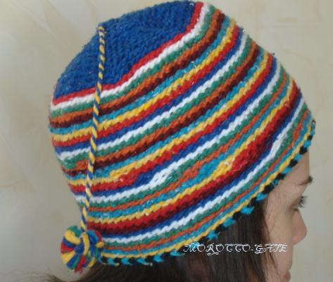 Bonnet pure laine