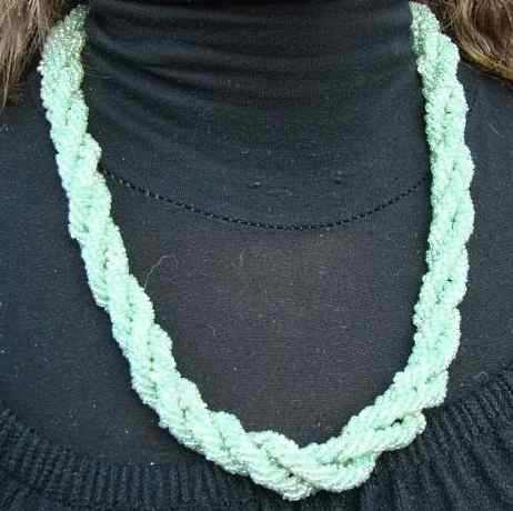Tafraout green necklace
