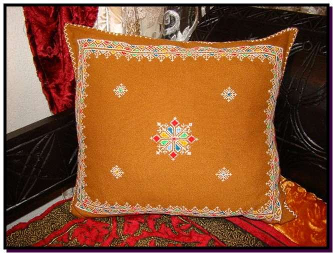 Berber pillow Zoulikha