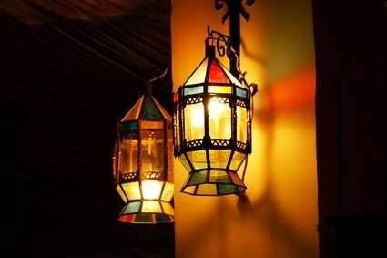 Moroccan lamps & Decor
