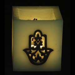 Moroccan candle Khmissa