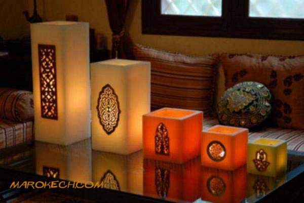 Moroccan Candle and tealight