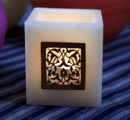 Moroccan Oriental candle