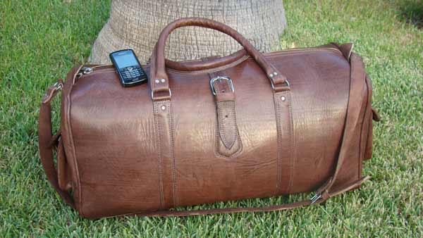 Morocco travel bag