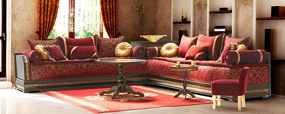 salon marocain royal. Black Bedroom Furniture Sets. Home Design Ideas