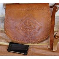 Leather Bag Hobo Zaz