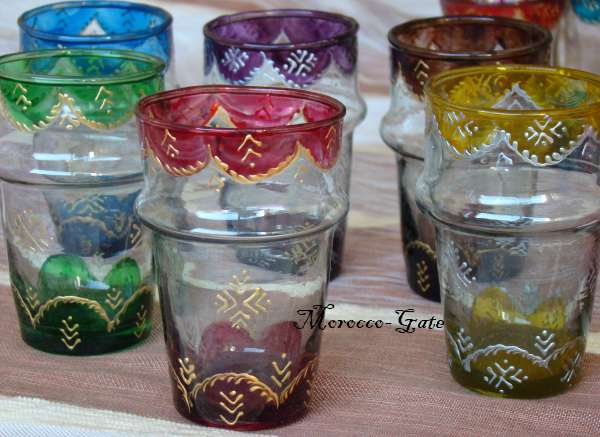 Derb Sultane Tea glasses